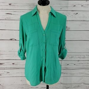 Express The Portofino Teal Shirt